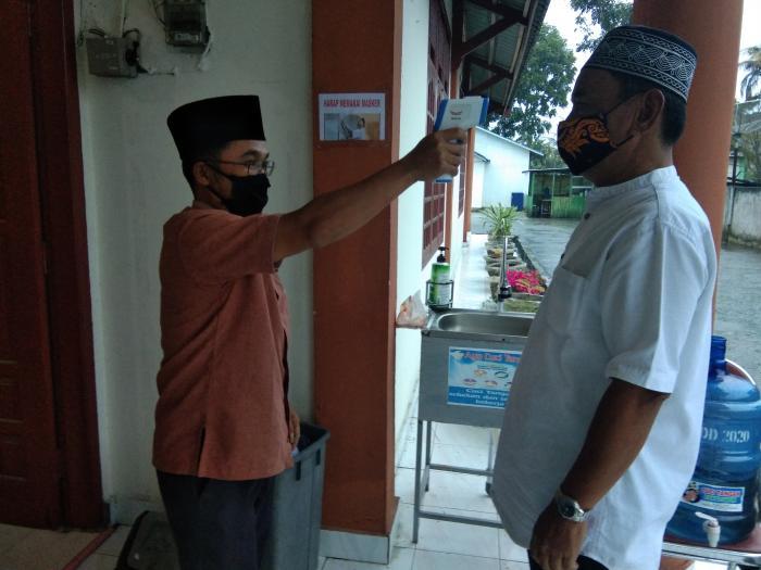 Kemenag Kota Sungai Penuh berlakukan Protokol Kesehatan