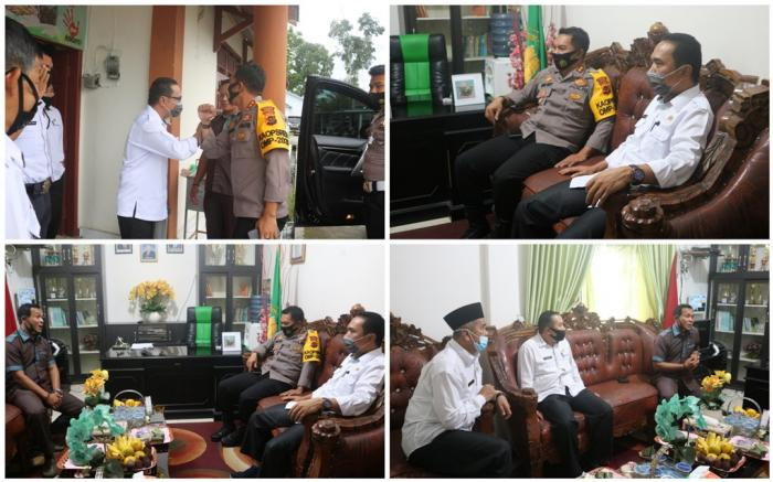 Pertemuan Dengan Kapolres Kerinci, H.Pahrizal, S.Ag, MM Serukan Pilkada Damai